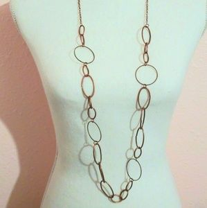 💥Copper Link Necklace & Earring Set 3 for$30💥